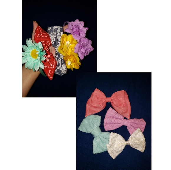 Ardene Headbands & Bow Clips